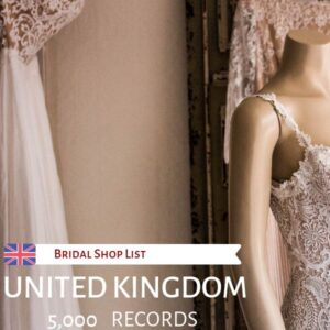 UK Bridal Shop List