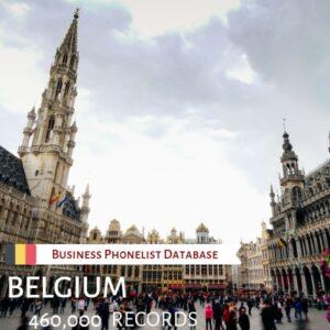 Belgium Business Phone List Database