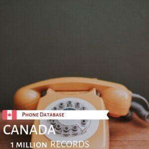 Canada Phone Database