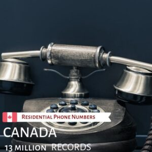 Residential Phone Numbers of Canada