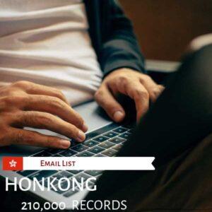 Hong Kong Email List