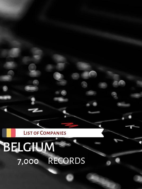 List of Companies in Belgium
