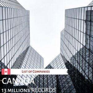 List of Canadian Companies
