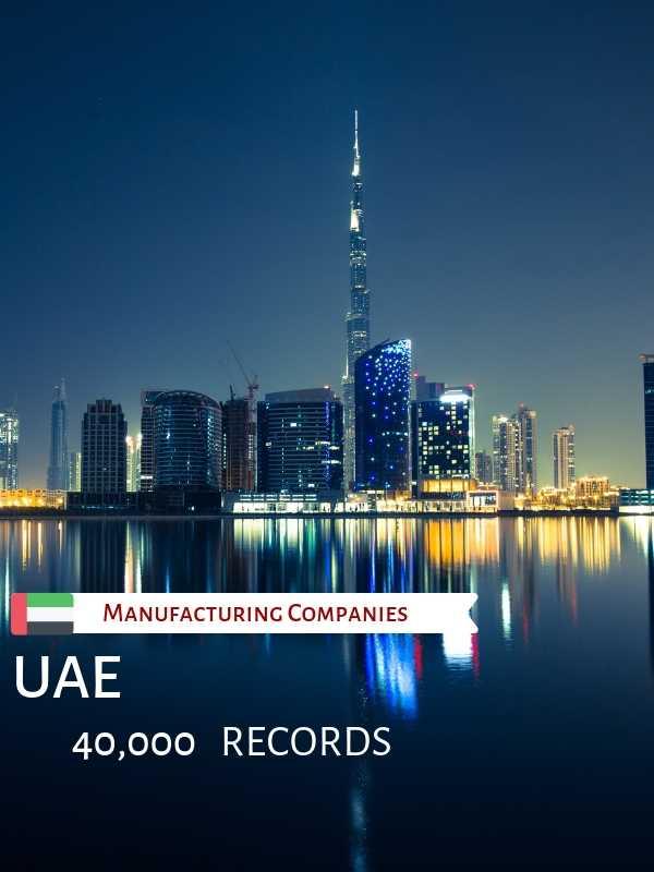 Manufacturing Companies in UAE