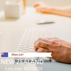 New Zealand Email Addresses