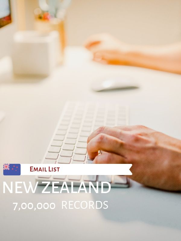 Affordable New Zealand Email List Download Now