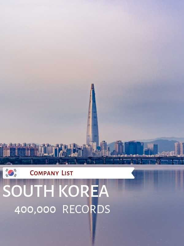 List of Companies in South Korea