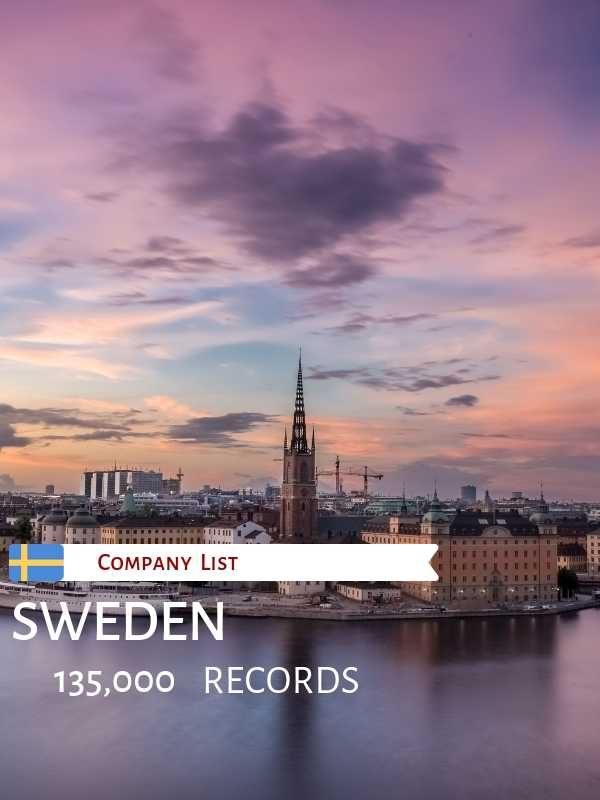 Sweden Companies List