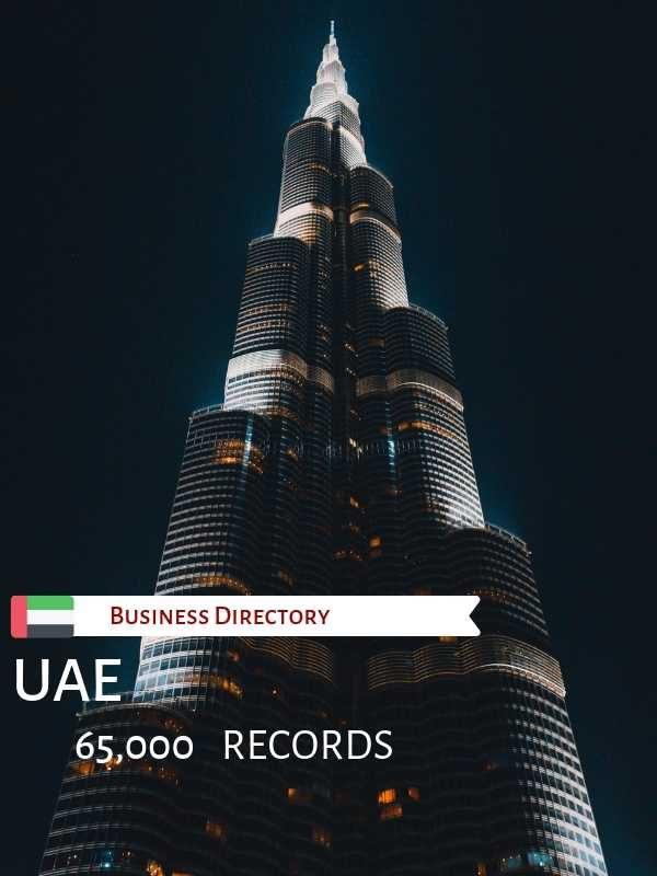 UAE Business Email Database