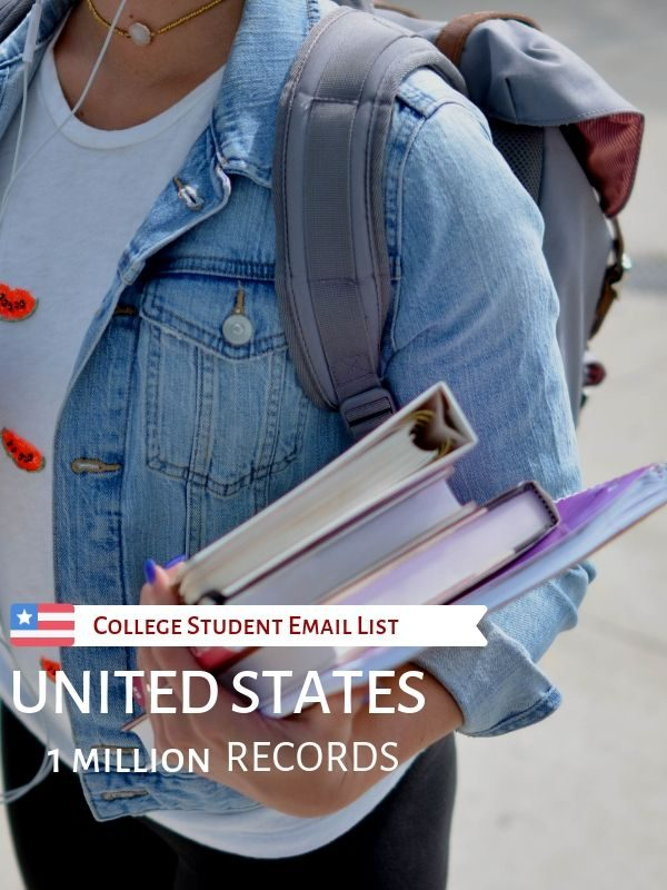 USA College Student Email List