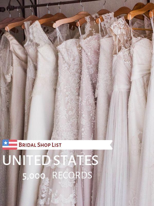 USA Bridal Shop List