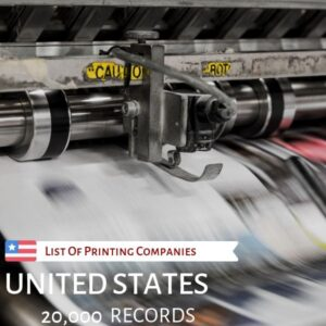 List of Printing Companies in USA